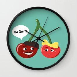 Ma Chérie Wall Clock