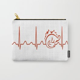 Paleontologist Heartbeat Carry-All Pouch