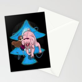 Dark Lies- Mabel and Waddles Stationery Cards