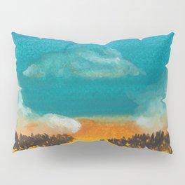 Jungle sunset Pillow Sham