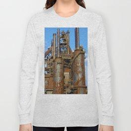 Bethlehem Steel Blast Furnace 1 Long Sleeve T-shirt