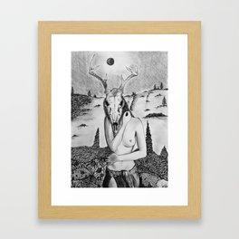 Misanthropic Spirit Framed Art Print