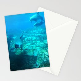 Under SeaWorld Stationery Cards