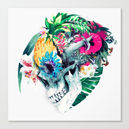 Skull ST Canvas Print