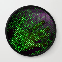 What are Hands (Color) Wall Clock