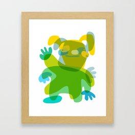 Humanum dance Framed Art Print