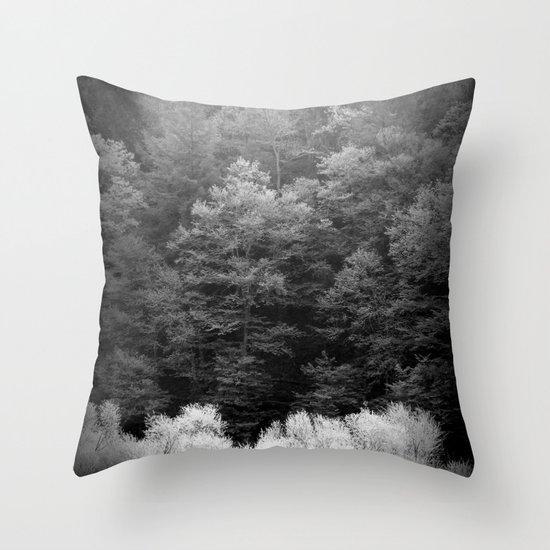The Forest Keeps Secrets Throw Pillow