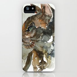 cat#15 iPhone Case