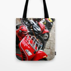 Scooters Tote Bag