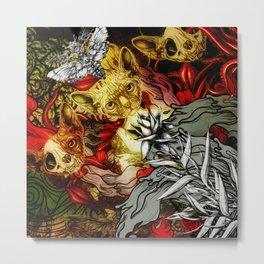 Fourth Mix Metal Print