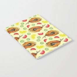 Milkfish Pattern Notebook