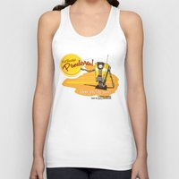 borderlands Tank Tops featuring Visit Pandora! by Andy Hunt