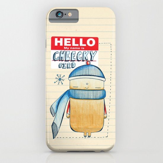 Cheeky Bird iPhone & iPod Case