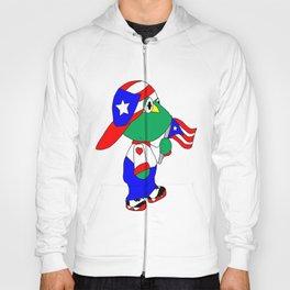 Puertorican Coqui Logo Hoody