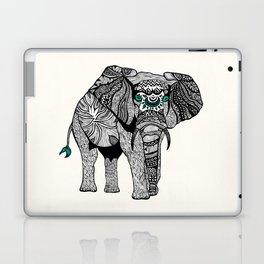 Tribal Elephant Black and White Version Laptop & iPad Skin