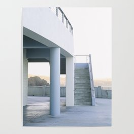 Calm Morning at the San Francisco Cliff House #2 Poster