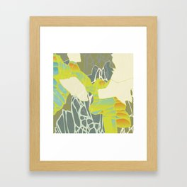 Accumulated Propagation - Inverse Framed Art Print