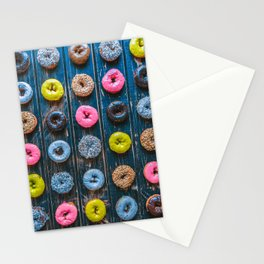 Vegan Donut Party Stationery Cards