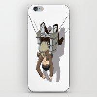 shingeki no kyojin iPhone & iPod Skins featuring Attack on Titan -Shingeki no Kyojin by Daniel Zeni