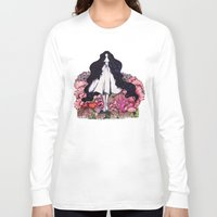 underwater Long Sleeve T-shirts featuring Underwater by The Blck Pen