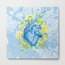 The Way to Her Heart Metal Print