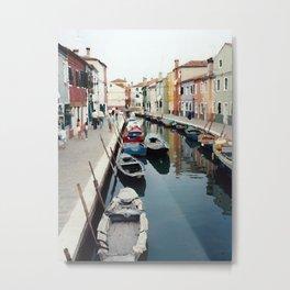 Canale di Venezia Metal Print