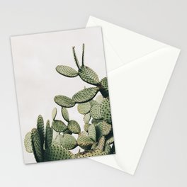 Cactus on blue sky #society6 #decor #buyart Stationery Cards