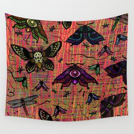 colour bugs Wall Tapestry