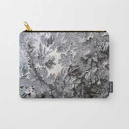 Frosty Glass Abstract Carry-All Pouch