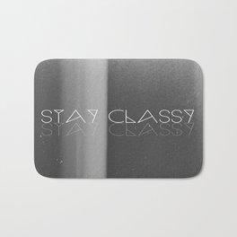 Stay Classy Bath Mat
