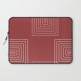 Baesic Retro Rectangles Watermelon Laptop Sleeve