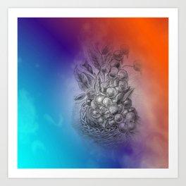 fruit basket -3- Kunstdrucke