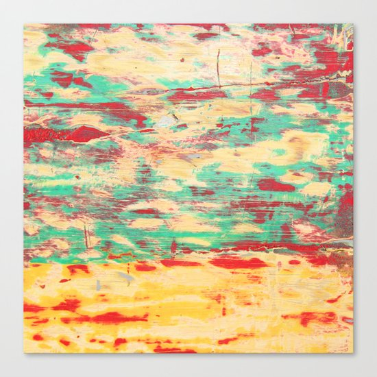 Wooden Pattern Canvas Print