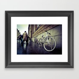 urban cycle IV. Framed Art Print