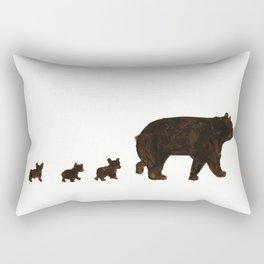Hello bears Rectangular Pillow