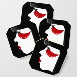Modern Geisha Coaster