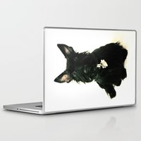 chelsea Laptop & iPad Skins featuring Chelsea by Zayda Barros