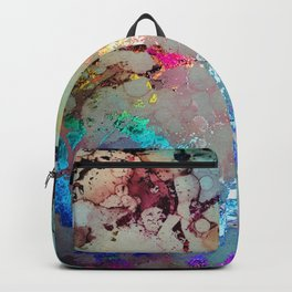 Spectrum Rainbow Alcohol Ink Backpack