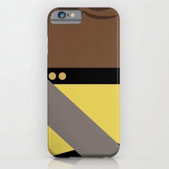 Worf - Minimalist Star Trek TNG The Next Generation - Enterprise 1701 D - startrek - Trektangles iPhone & iPod Case