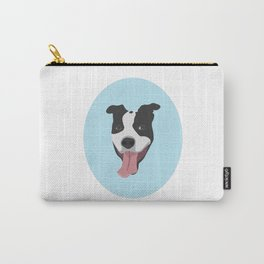 Smiley Pitbull Carry-All Pouch