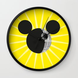 The New Death Star Wall Clock