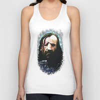 the hound Tank Tops featuring THE HOUND by Chewgowski