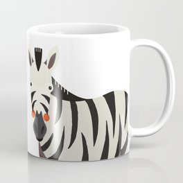 Zebra, Animal Portrait Coffee Mug