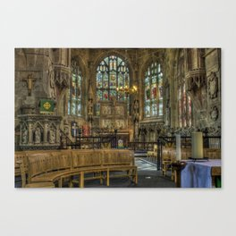 St Giles Church Canvas Print