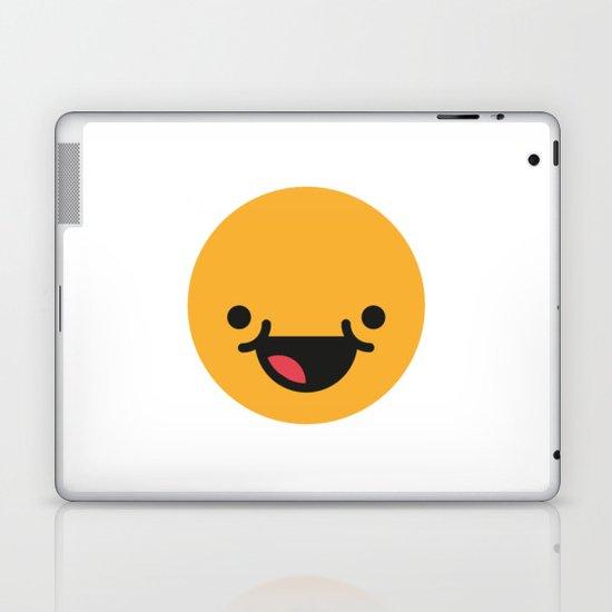 Emojis: Happy Laptop & iPad Skin