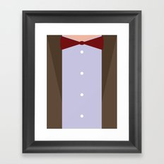 The Eleventh (11th) Doctor - Doctor Who Framed Art Print