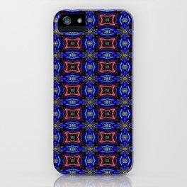 Velvety Grandeur Pattern 2 iPhone Case