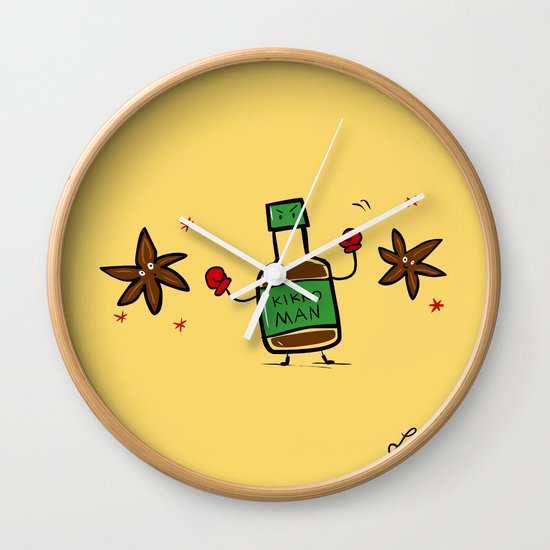 Soy Sauce & Anise Wall Clock