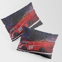 P917 Racing in the Rain Pillow Sham