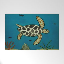 Under The Sea Welcome Mat